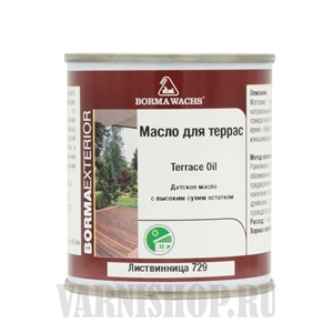 Borma Terrace Oil 125 мл