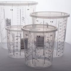 Изображение Мерные пластиковые стаканы