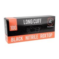 Изображение Black Nitrile Roxtop Long Cuff- Размер L