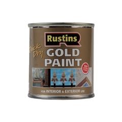 Изображение Rustins Quick Dry Gold Paint