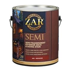 Изображение ZAR Semi-Transparent Deck & Siding Exterior Stain