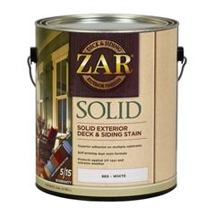 Изображение ZAR Solid Color Deck & Siding Exterior Stain