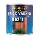 Изображение Rustins Brick Varnish - Глянцевый -  2,5 литра