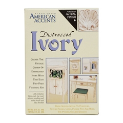 Изображение American Accent's Distressed Finishes Ivory Kit 202867