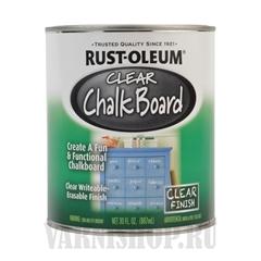 Rust-Oleum® Specialty Clear Chalk Board (0,887 л) 284469 - Прозрачный