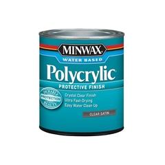 Изображение Minwax® Polycrylic™ Protective Finish 237 мл Полуматовый 23333